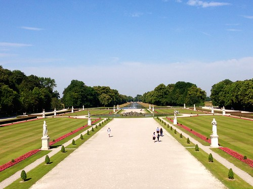 Giardini all'italiana - Castello di Nymphenburg