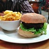 And a massive and excellent burger