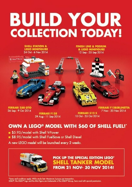 The new Shell V-Power LEGO Collection 3
