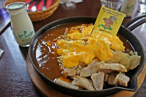Furano Famous Curry omelette rice
