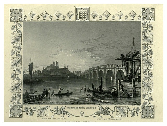 008- Puente de Westminster-The Thames and Medway…W.G. Fearnside