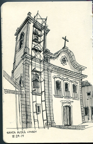 Santa Rita's church, Paraty