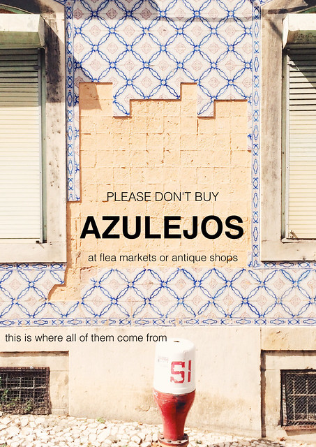 please don't buy azulejos