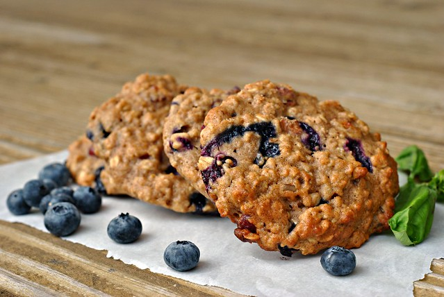 Blueberry, Cranberry, and Walnut Breakfast Cookies 3