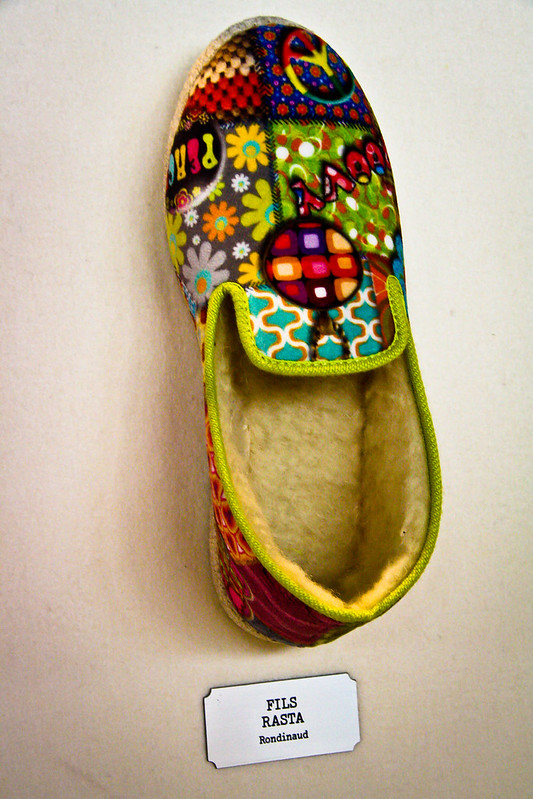 Expo chaussure: fils rasta