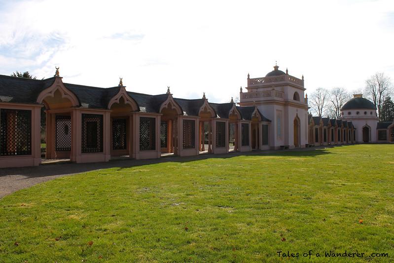 SCHWETZINGEN - Schwetzinger Schlossgarten - Rote Moschee