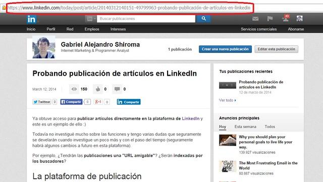 Link publicación LinkedIn
