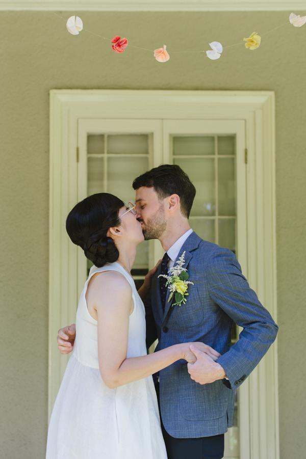 Celine Kim Photography intimate High Park Parkdale restaurant wedding Toronto wedding EM-24