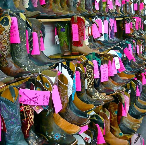 These boots are made for...