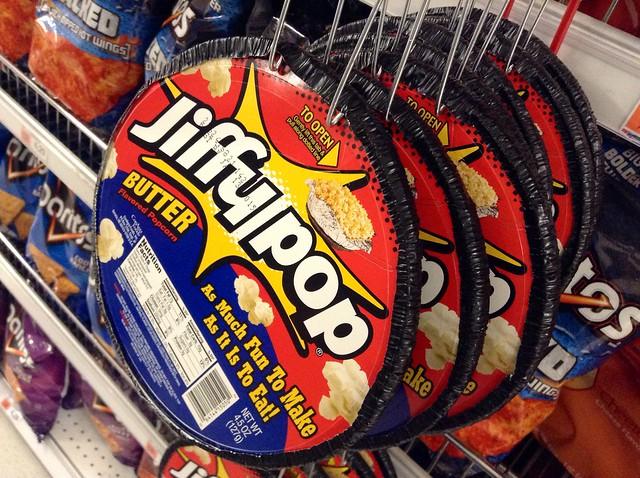 Jiffy Pop Corn