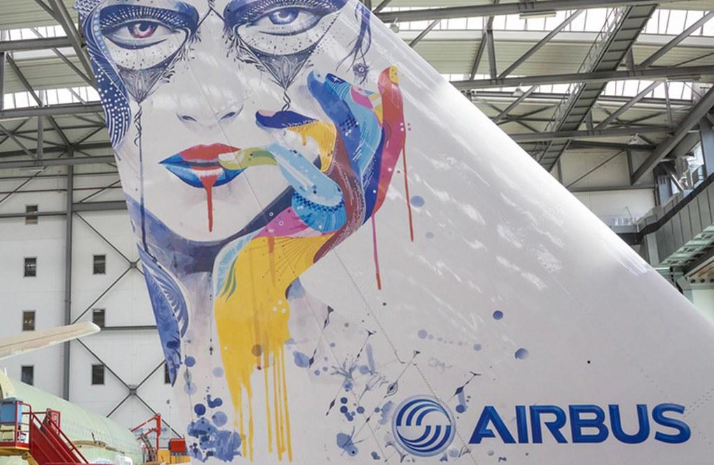 Új festési technológia fejlesztésén dolgozik az Airbus