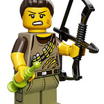 LEGO Collectable Minifigures Series 12 - Dino Tracker
