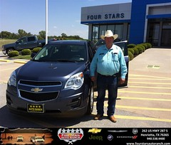 #HappyAnniversary to Nolan Bishop on your 2013 #Chevrolet #Equinox from Mark Havens at Four Stars Auto Ranch!