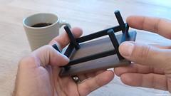 3D-printable coffee table (coaster)