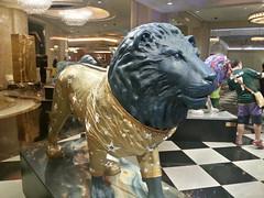 MGM sponsored lion art