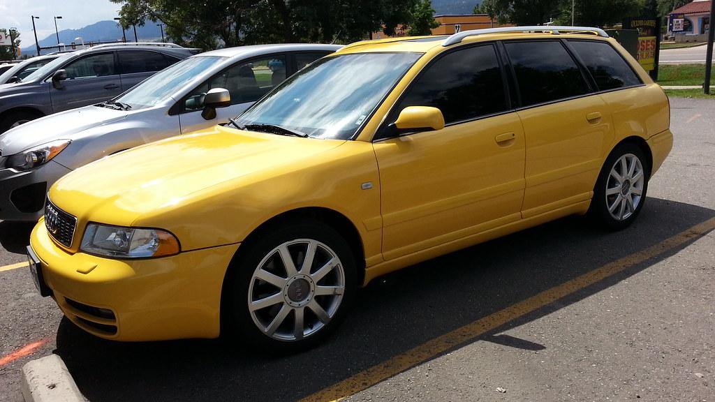 Audi Other 2002 B5 S4 Avant Imola Yellow - AudiWorld Forums