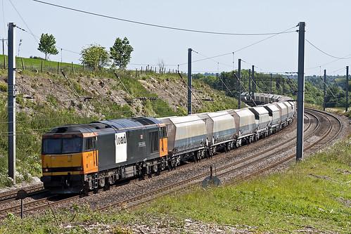 mml midlandmainline class60 60059 lutonhoo loadhaul clickcamera swindendalesman 6m34