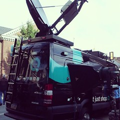 QVC broadcasted live from the West Chester Food Festival today.