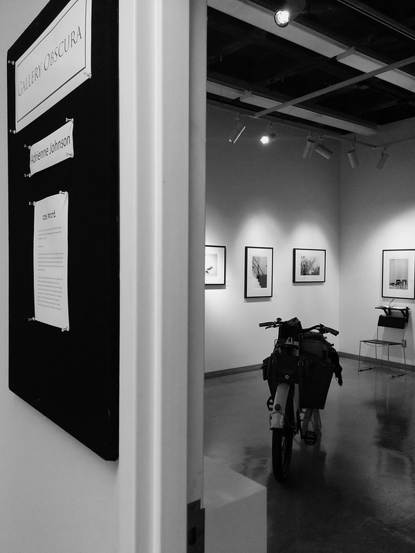 "¡♥! × Adrienne's solo b+w photography show: ""one word"""