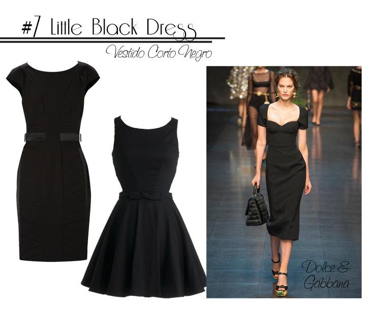 7 Black Dress