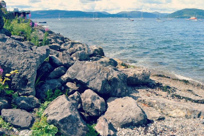inverkip rocks clyde
