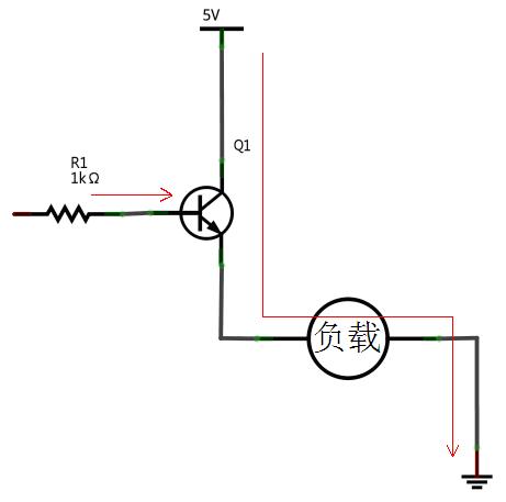 物理正负极电路图