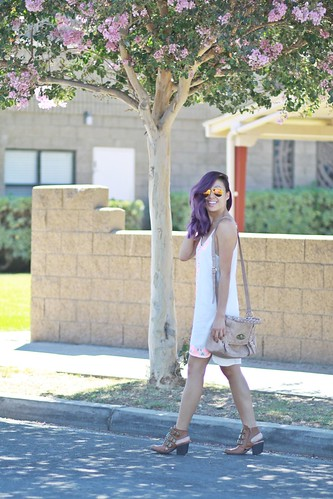 lucky magazine contributor,fashion blogger,lovefashionlivelife,joann doan,style blogger,stylist,what i wore,my style,fashion diaries,outfit,lush clothing,california heat wave,summer style,charlotte russe,zero uv, purple hair,steve madden,what to wear,bohemian style