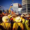 I els grocs per l'altre! #catalanswanttovote #11s2014