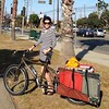 Riding the cargo bike was wayyyyy more fun than I had guessed it would be. Yes, it's more weight, but when it gets goin fast, it's FAST! Plus, we could stay longer at the beach with our cooler, chairs, and sun tent. #suchfun #bestmeetingever #bikejoy #biz