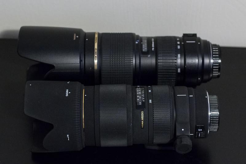 Tamron 70-200 F2 8 vs Sigma 70-200 F2 8 EX DG HSM II