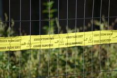 Verboden toegang - Asbest
