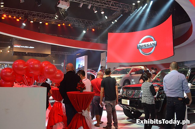 Nissan Trade Show Display