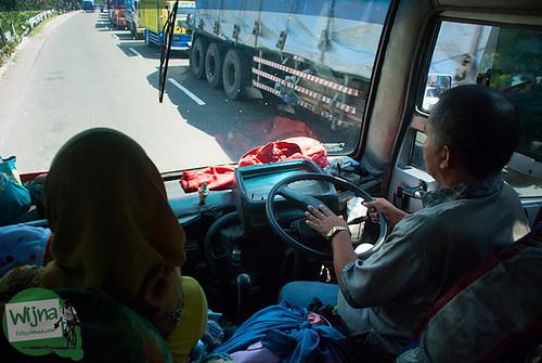 Cerita supir bus yang melayani trayek Terminal Magelang ke Terminal Parakan di Temanggung