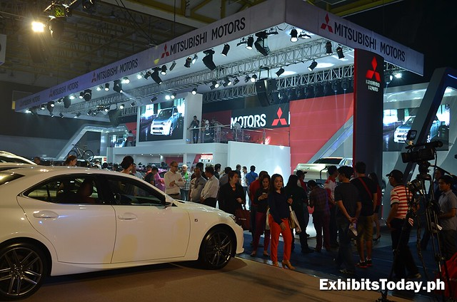 Mitsubishi Motors Trade Show Booth