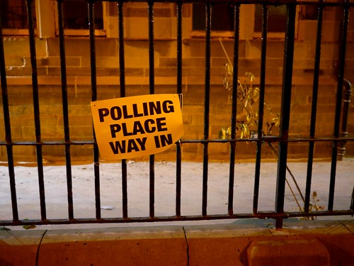 Polling Place Way In - 2