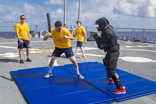 Stethem Prepares Sailors for Real World Threats