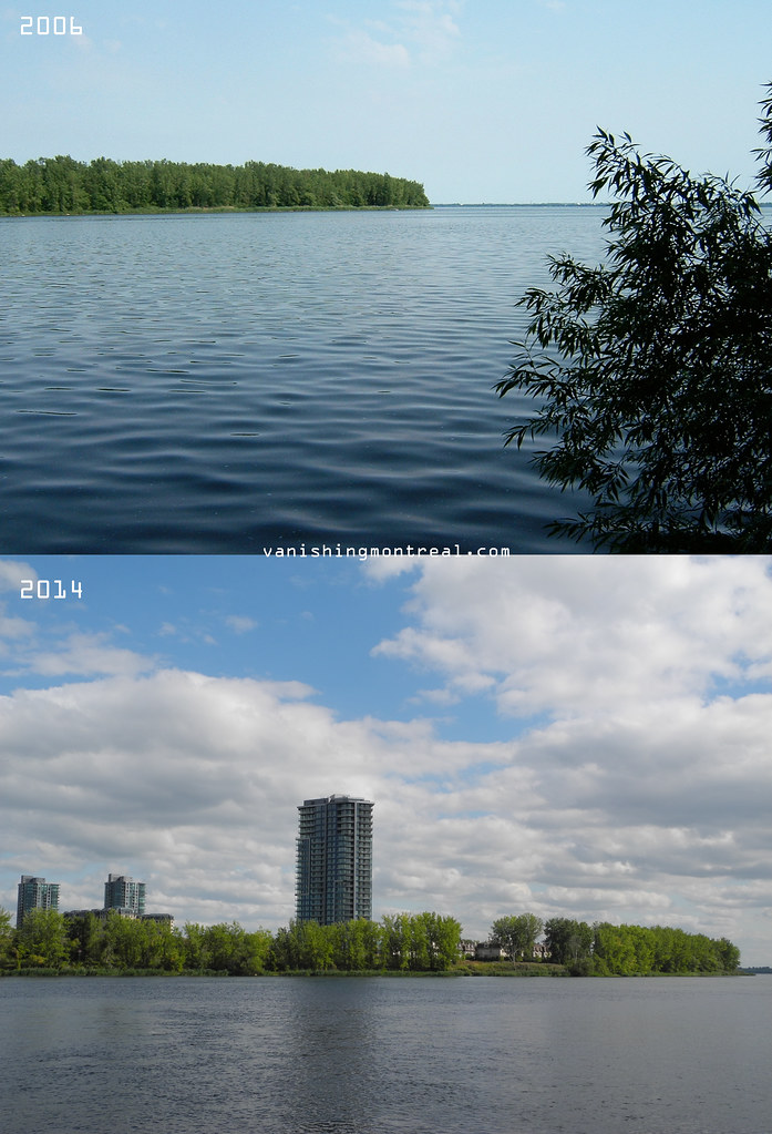 Before and After : Nuns' Island