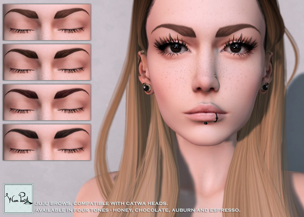 WarPaint* @ Skin Fair '17 - Juju Brows - SecondLifeHub.com