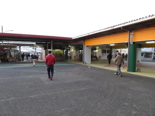佐賀競馬場の帰り道