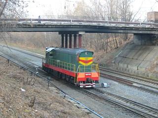 MKZD railway in 2005, Sokolinaya Gora platform location