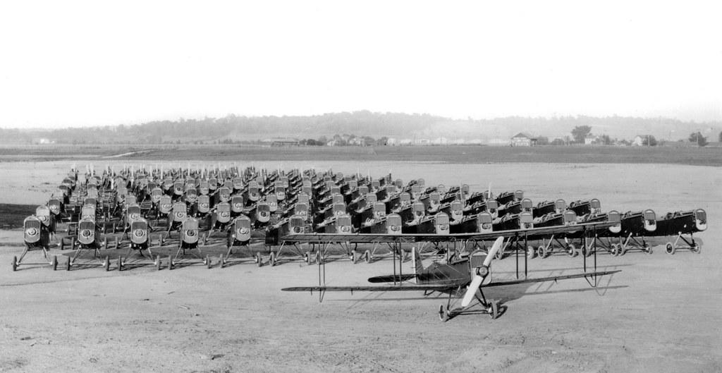 America Enters The Great War_DH-4_Circa 1917