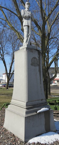 Old Pepin County Civil War Monument (Durand, Wisconsin)