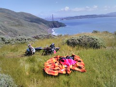 Current location: Picnic in the Marin Headlands. #marinheadlands #bayareatripmar2017