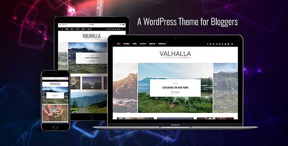 Valhalla WordPress Theme free download