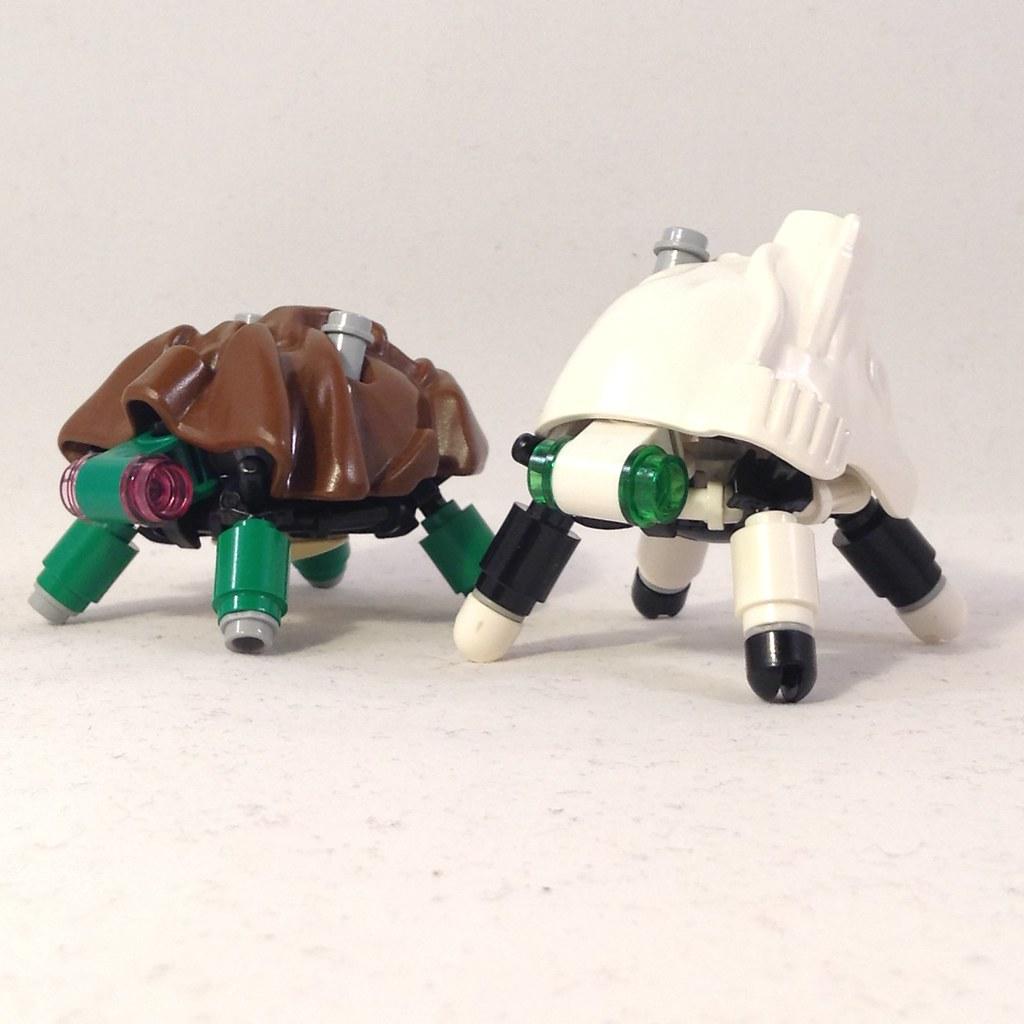 Niyyan Matape Tortoise (custom built Lego model)