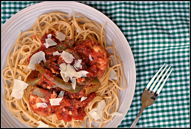 Crock Pot Chicken Spaghetti 2