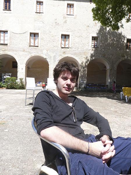 paul au monastère