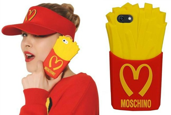 moschino fries cover case