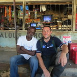 Lunch time chat with Vincent, a university graduate in Malawi.
