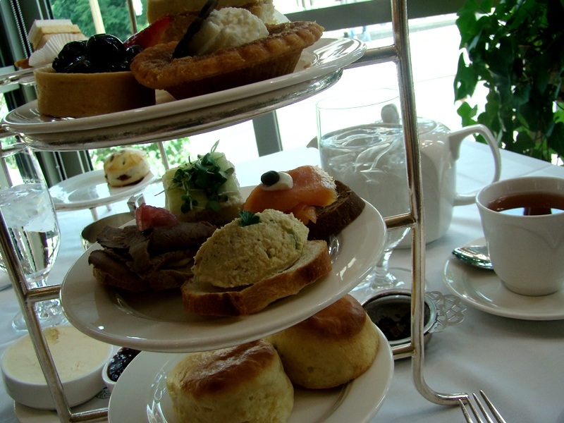Canadian Afternoon Tea Chateau Laurier